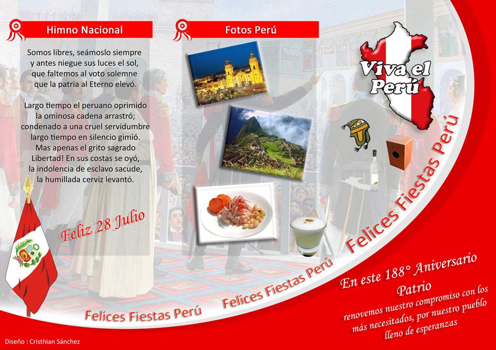 Frases Para Fiesta S Patrias De Peru